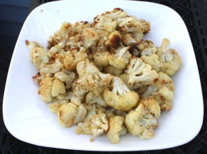 Photo by Wheeler Cowperthwaite for the Nevada Appeal. The key to roasted cauliflower is in some salt, some pepper, some olive oil and an uncrowded baking sheet.